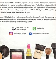Natural & Korean MakeUp Specialist by Marsia Yulia Signature. Natural and Korean Make Up Specialist.