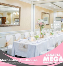 Wedding Expo @JIExpo Kemayoran. 22-24th February19 by MERCANTILE PENTHOUSE WEDDING