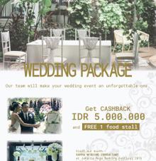 JAKARTA MEGA WEDDING FESTIVAL 10 - 12 MAY 2019 by Mercure Jakarta Sabang