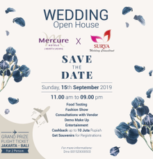 Sky Ball Room Open House  15 Sep 2019 at Mercure Hotels Jakarta Sabang by Mercure Jakarta Sabang