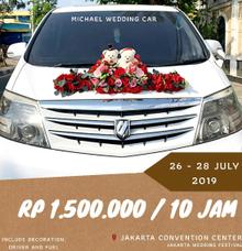 Jakarta Wedding Expo by Michael Wedding Car