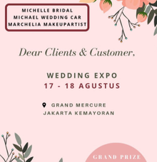 In House Exhib - Grand Mercure Kemayoran by Michelle Bridal
