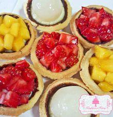 Fruit Tarts by Delightfulness Bakery