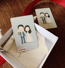 Wedding gift for guest  by Molusca Project