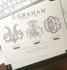 Monogram Design by J. Graham