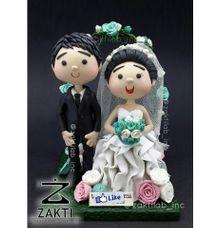Cute Wedding Figure (type B) by Zakti Laboratory Inc