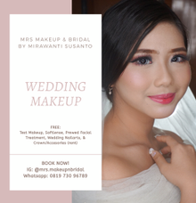 Wedding Makeup Package by MRS Makeup & Bridal