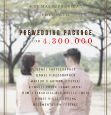 PAKET PREWEDDING PHOTOSHOOT by MRS Makeup & Bridal