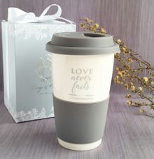 Silicon Mug - Roy & Olivia by Red Ribbon Gift