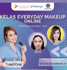 Belajar makeup gratis  by Natcha Makeup Studio