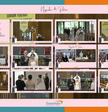 Nugraha & Ratna Virtual Online Wedding Live Streaming Holy Matrimony by Truevindo