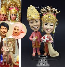 Traditional wedding Figure  (Type A-realistic )  by Zakti Laboratory Inc