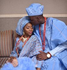 Boluwatife Odutola and Ayodeji Ojuawo Nigerian Wedding highlights by Rayhouse Studios