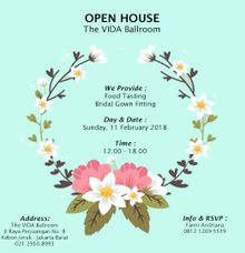 Open House The VIDA Ballroom  - Jakarta Barat by The Vida Ballroom