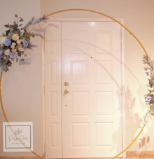 Circular Backdrop by Patson Decor