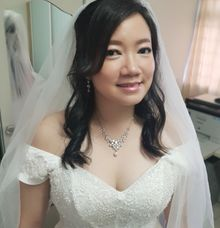 Wedding Day by Angel Chua Makeup and Hair