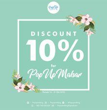 PROMO OKTOBER by Pop Up Malang