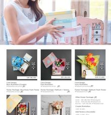 Flowercard Pricelist by FleBel Florist