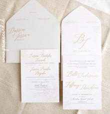 Wedding Invitation of Billi & Tiffany by Prima Card