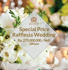 Promo Rafflesia Grand Ballroom by BALAI KARTINI - Exhibition and Convention Center