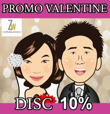 Promo Valentine day by Zeto Wedding Animation
