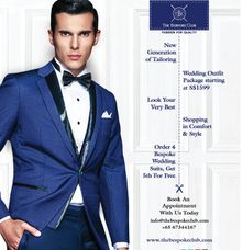 Wedding Outfit Package by The Bespoke Club