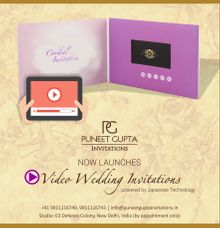 Video Invitation by Puneet Gupta Invitations