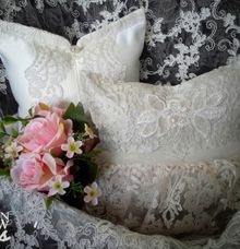 Traditional Indonesian Wedding pillow by Fashion Pillow Weds