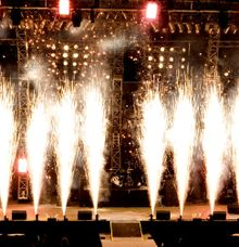 Pyrotechnic by CV Bali Stage Expotama