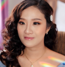 Makeup for sister of the bride  by Rachel Liem Makeup
