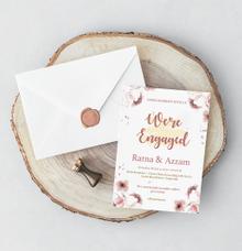 Engagement Invitation of Ratna & Azzam by Blujo Inc.