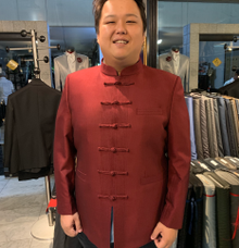 Red Shanghai look by Richard Costume Design
