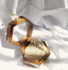 Ring Box Hexagonal by Kimy.Florist