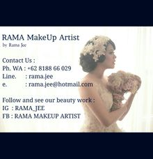 Contact detail by Rama Jee MakeUp Artist