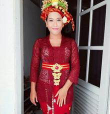 Balinese Wedding Reception by Riri Carlotta