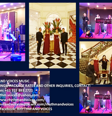 Weekly gig at Casino Filipino Manila Bay Philippines January 2018 Saturdays by RHYTHM AND VOICES MUSIC