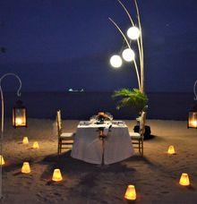 Romantic Dinner by HOTEL NIKKO BALI BENOA BEACH