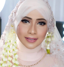 Makeup bride for mrs . Rachma by Rose Makeupartist