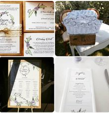 Floral Rustic by Amanda Riley Creative