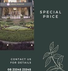 GRAND MERCURE JAKARTA KEMAYORAN - SPECIAL DEAL ALL IN PACKAGE -LIMITED TO QUOTA by Alissha Bride