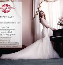 Sample Sale for Bridal Gowns by Rosalynn Win Haute Couture