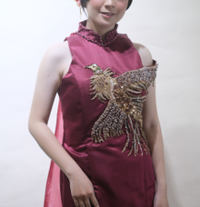 Cheongsam exclusive by Sandra Bridal and Makeup Academy