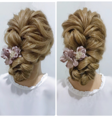 Hairstyle for wedding  by sandy_hsu_make_up