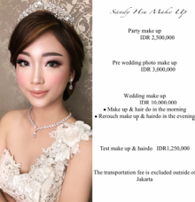 Price list by sandy_hsu_make_up