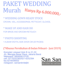 promo by SANSAN Bridal
