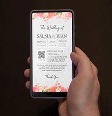 Undangan Grafis Salma & Rian by Sanone Project Digital / Electronic Invitation