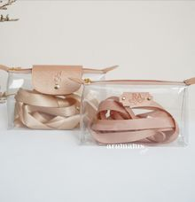 Kelly & Laurent Clear Pouch by Arumanis Gift