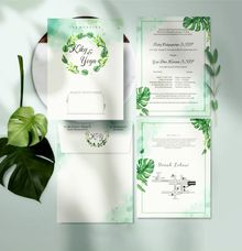 Single Softcover + Envelope  By Kenz by Bellva Invitation