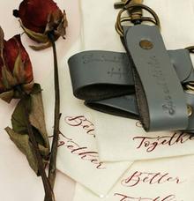 Keychain - Jonathan & Carmen by Rove Gift