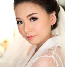Wedding makeup class for Cindy by Silvia Jonathan